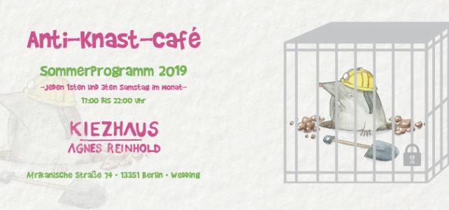 "Buchvorstellung ""Wege durch den Knast"" beim Anti-Knast-Café"