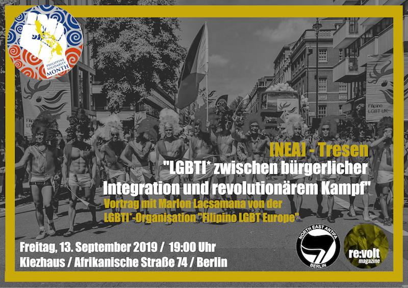 Veranstaltung: LGBTI* zwischen bürgerlicher Integration und revolutionärem Kampf